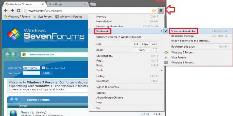 Chrome Browser - Turn