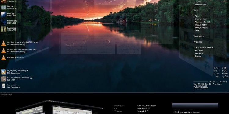 Lightning Sunset (Desktop 12