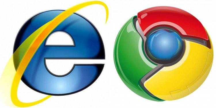 Google Chrome Versus IE 10