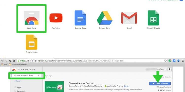 Install chrome remote desktop