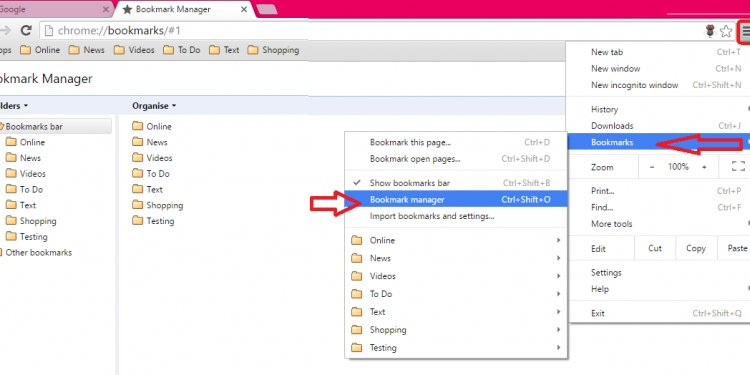 How to Transfer Bookmarks from