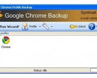 Backup Google Chrome
